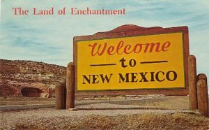 New Mexico Welcome